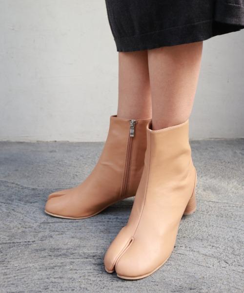 [FABBY FABBY.] 足袋ラウンドショートブーツ