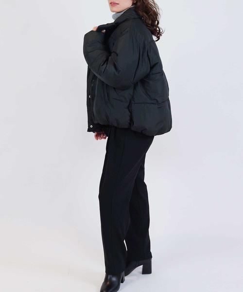 中綿スタンドジャケット