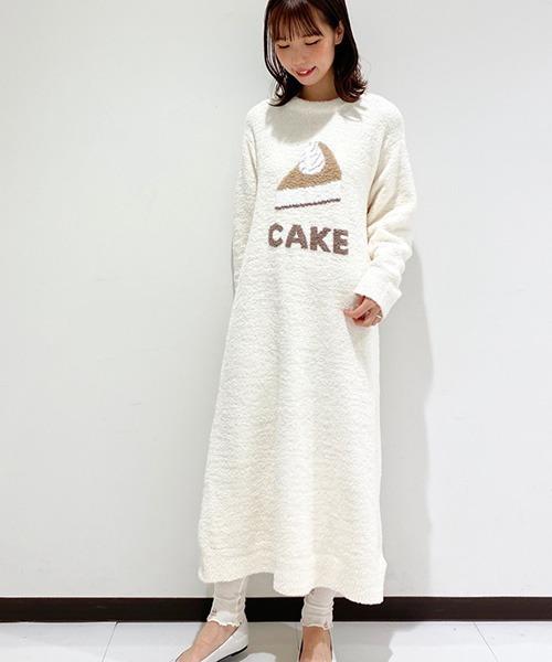 [gelato pique] 'パウダー'デザートワンポイントドレス