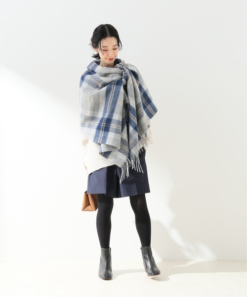 [IENA] ドット柄ジャガードハイウエストショーツ【手洗い可能】◆5