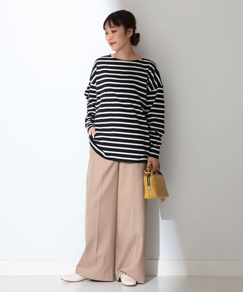 [BEAMS WOMEN] AUBERGE / 別注 COCO ボーダーカットソー11