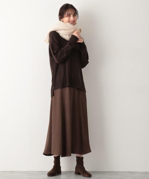 [GLOBAL WORK] Vintageサテンスカート【MATINEE LINE】