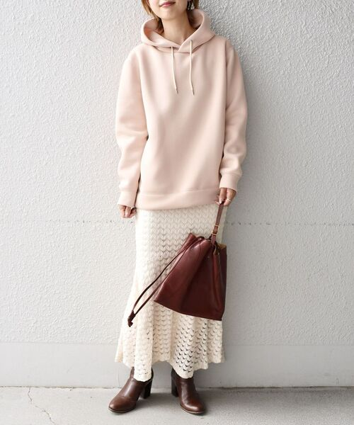 [SHIPS for women] レース切替スカート
