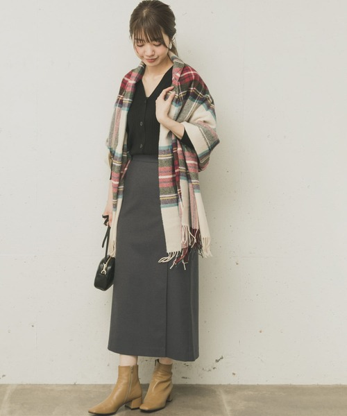 URBAN RESEARCH OUTLET ロングラップスカート