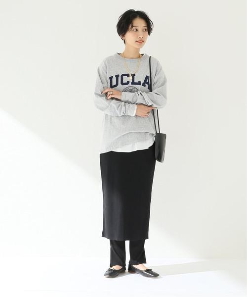 [JOURNAL STANDARD] レギンスセットリブスカート◆