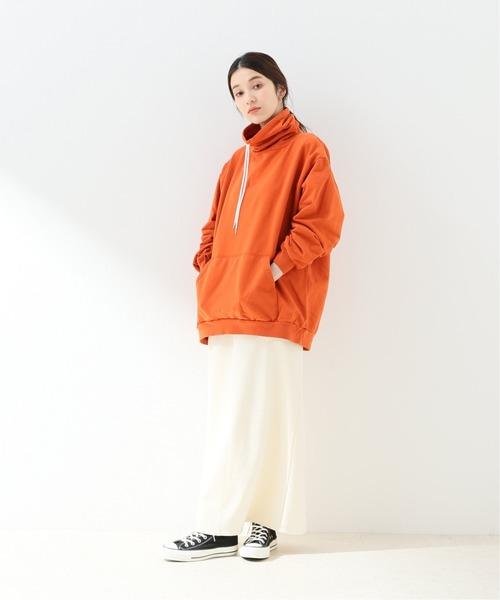 [IENA] 【STAR&STRIPE/スター&ストライプ】ロングネックスウエット【洗濯機使用可】8