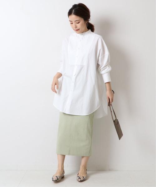 Spick & Span] ≪追加≫フェイクスエードストレッチタイトスカート2