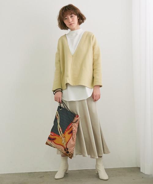 [ROPE' PICNIC] マーメイドシルエットサテンスカート