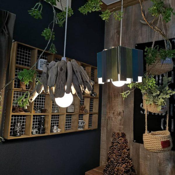 DIYでおしゃれなカフェ風ランプシェード