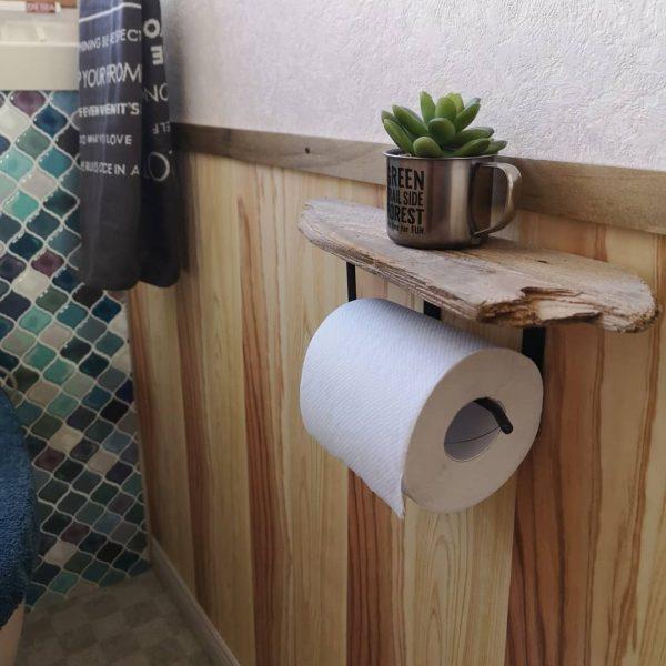 100均DIYでカフェ風ペーパーホルダー