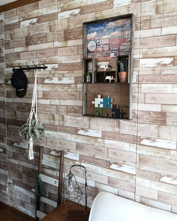 DIYで作るカフェ風おしゃれな飾り棚