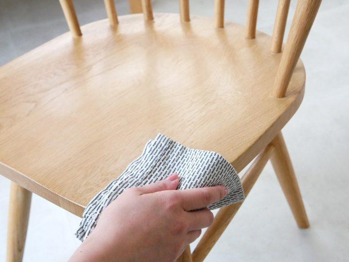 無垢材の椅子6