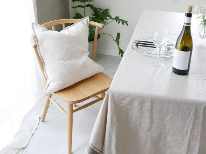 無垢材の椅子7