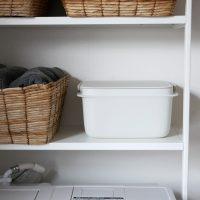 すっきり収納できる♪お掃除に便利なコンパクトサイズの「バケツ」