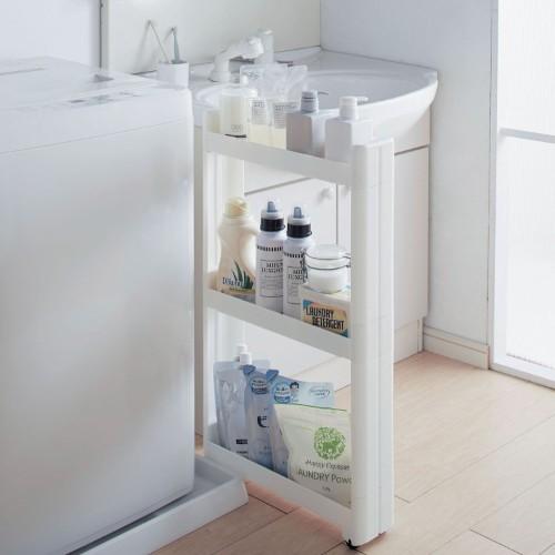 洗濯機横の収納アイデア3