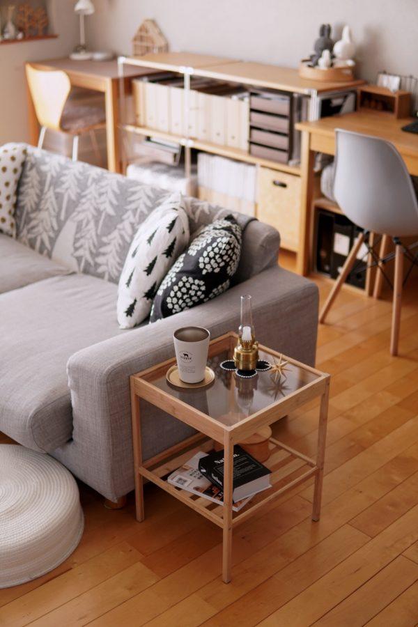 NESNA ベッドサイドテーブル3