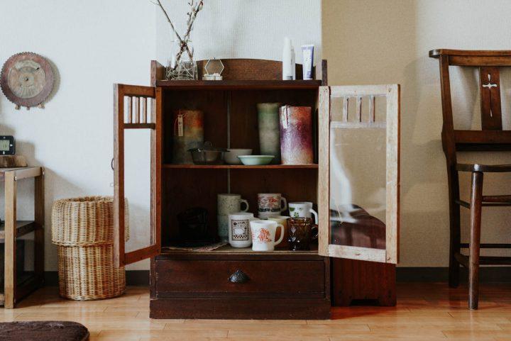 j食器棚、収納棚