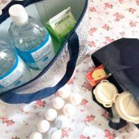 お買い物のお供に♪100均の「大容量の保温・保冷バッグ」