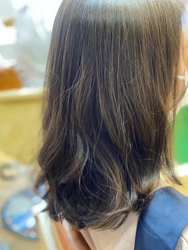 イエベ春に合う暗めの髪色【セミロング・ロング】