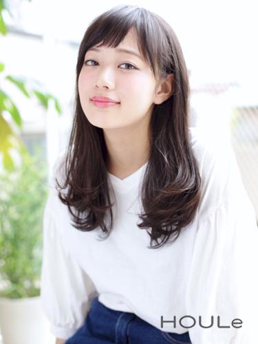 求心顔 髪型 ロング4