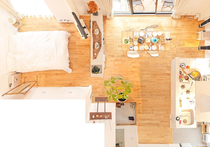 二人暮らしのベッドスペース3