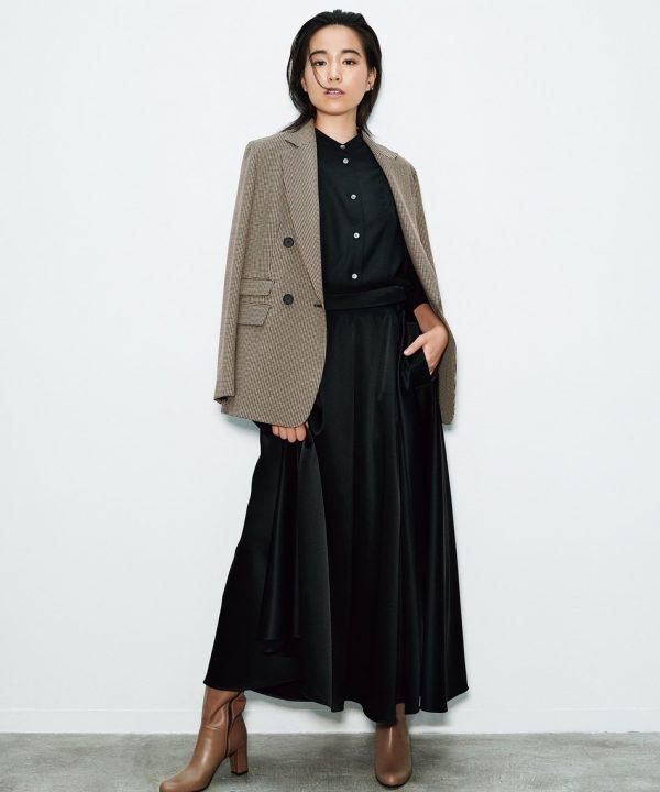 [ICB] 【マガジン掲載】Satin スカート