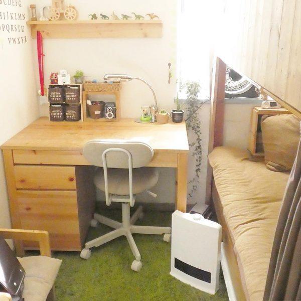 2段ベッドが個室に変身する8畳の子供部屋アイデア