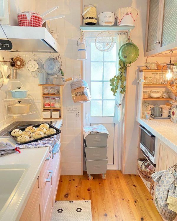 真っ白キッチンインテリア14