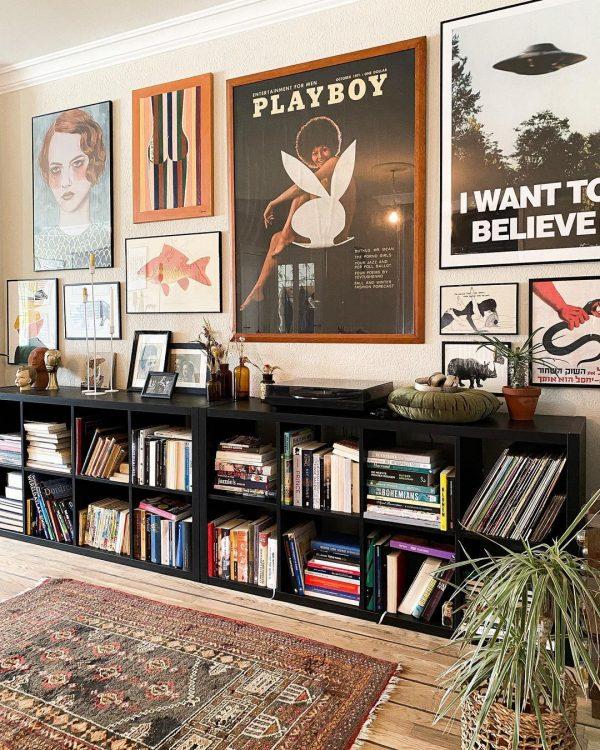 座って読書ができるスペース