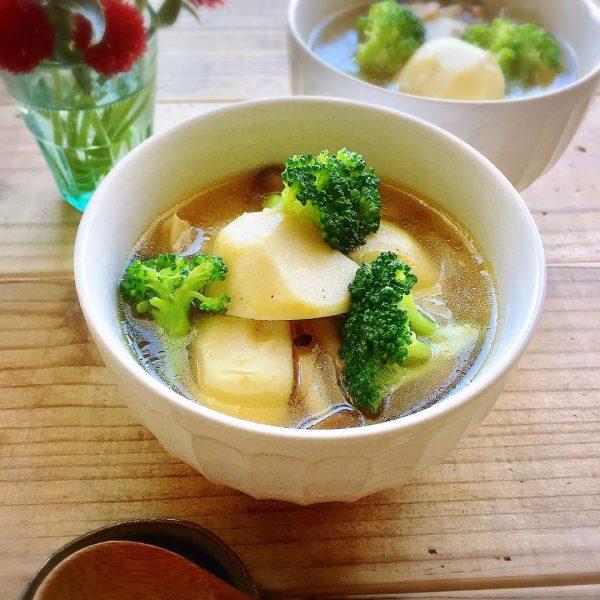 簡単時短メニュー☆里芋とベーコンのポトフ