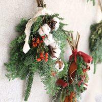 手作りリース&スワッグで、クリスマスを迎えたい。おすすめ花材と作り方をまとめました