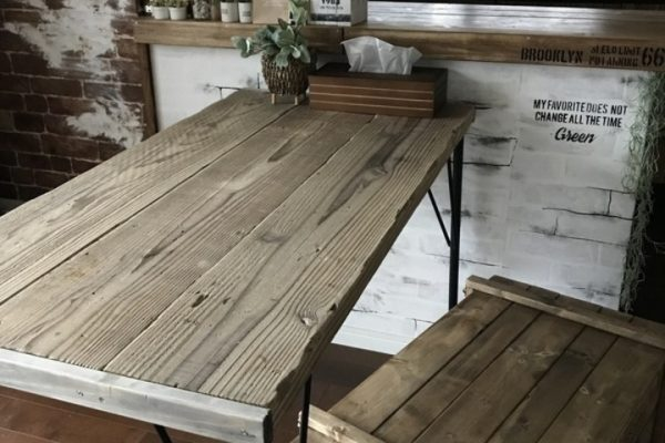 ダイニングテーブルDIY5