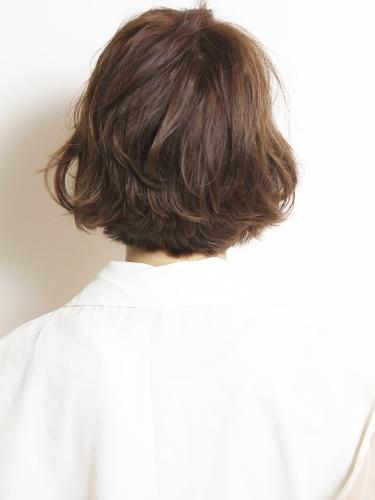イエベ春に合う暗めの髪色【ボブ】