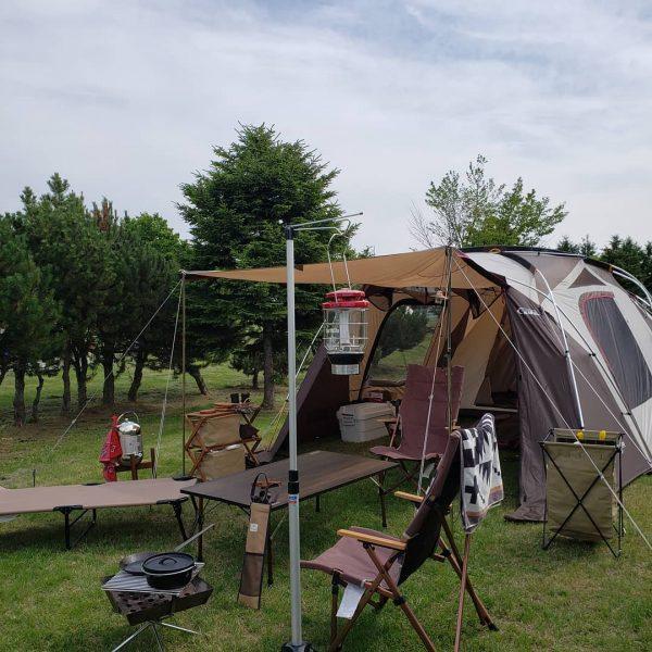 おしゃれ キャンプ レイアウト2