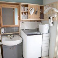 洗濯機上の棚DIY実例12選!周りのスペースを有効活用するアイデアも♪