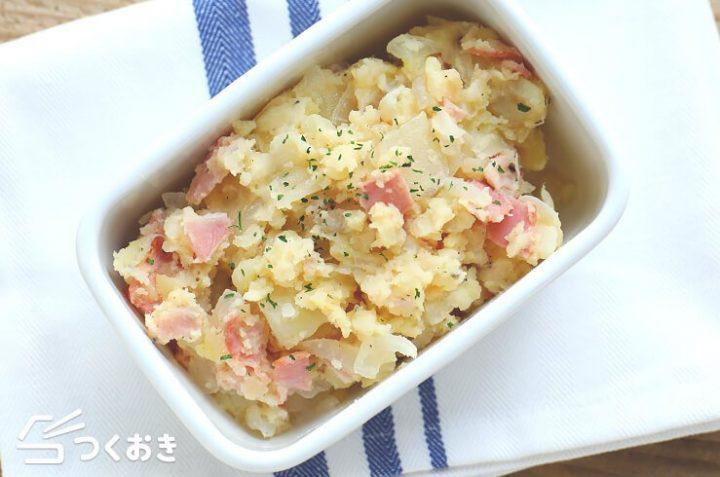簡単副菜レシピ!じゃがバターポテサラ