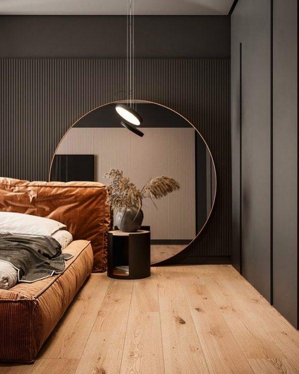 スタイリッシュ&モダンなベッドルーム