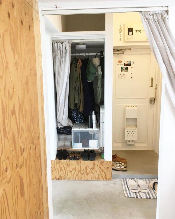 一人暮らし 玄関 シンプル3