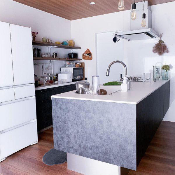 真っ白キッチンインテリア9