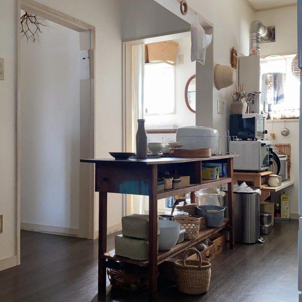 キッチン背面収納を増やす