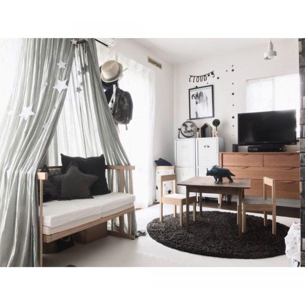 2人で仲良く使える家具が嬉しい子供部屋