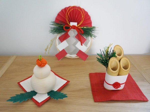 伝統的なお正月飾りをモダンな表情に