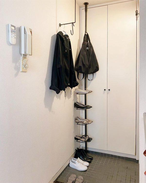 一人暮らし 玄関 シンプル6