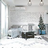 白いリビングのインテリア実例特集!清潔感溢れたおしゃれなお部屋作りのコツは?