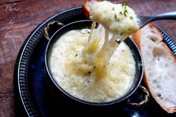 温かいチーズレシピなら新じゃがのアリゴ