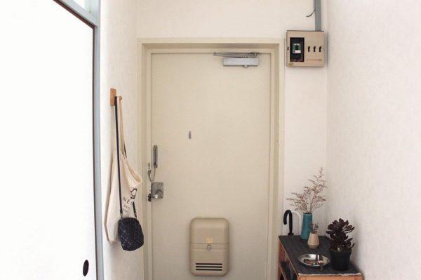 一人暮らし 玄関 シンプル8