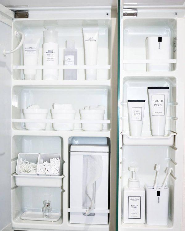 「白化」で美しい収納にする