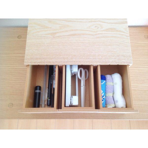 文房具類の収納に☆木製小物収納