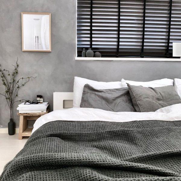 かっこいい雰囲気の寝室
