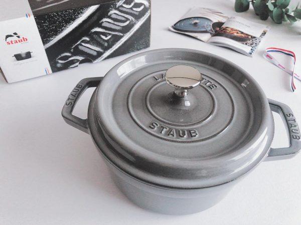 洗練されたデザインの鍋型スキレット